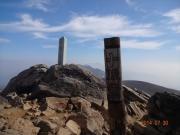 山頂から美瑛富士、トムラウシ遠望