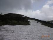 駒ノ小屋から山頂へ