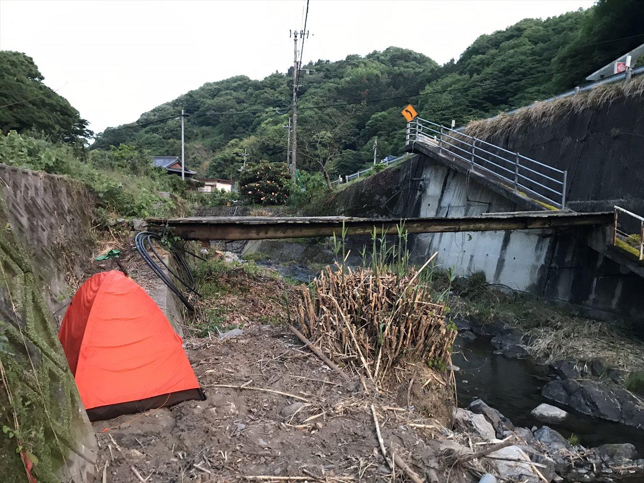 金生川辺野宿