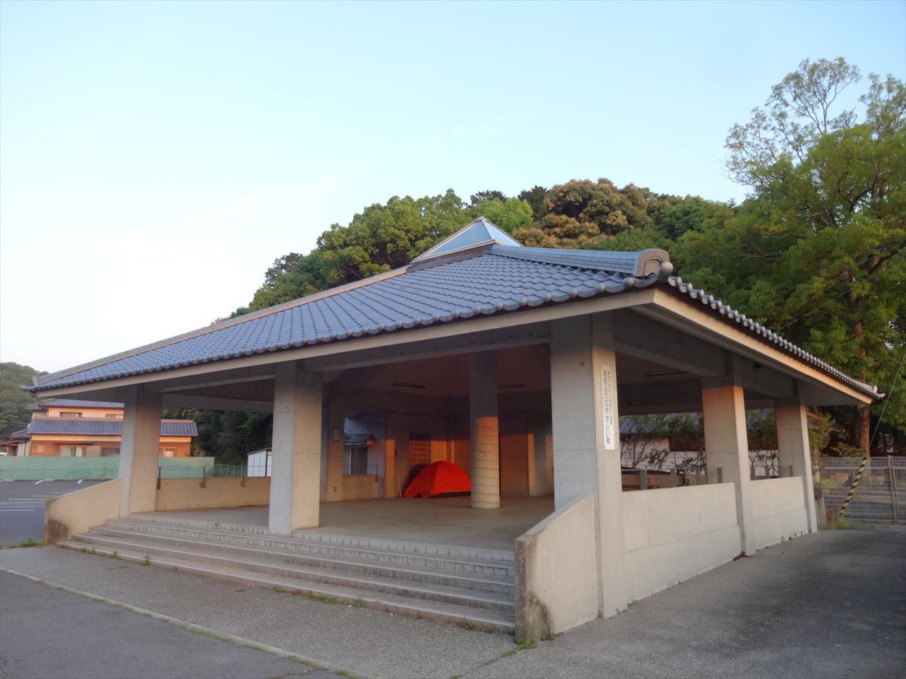 亀鶴公園野宿